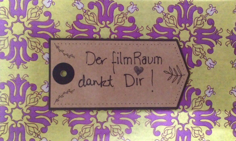 FilmRaum Crowdfunding Dankeschön
