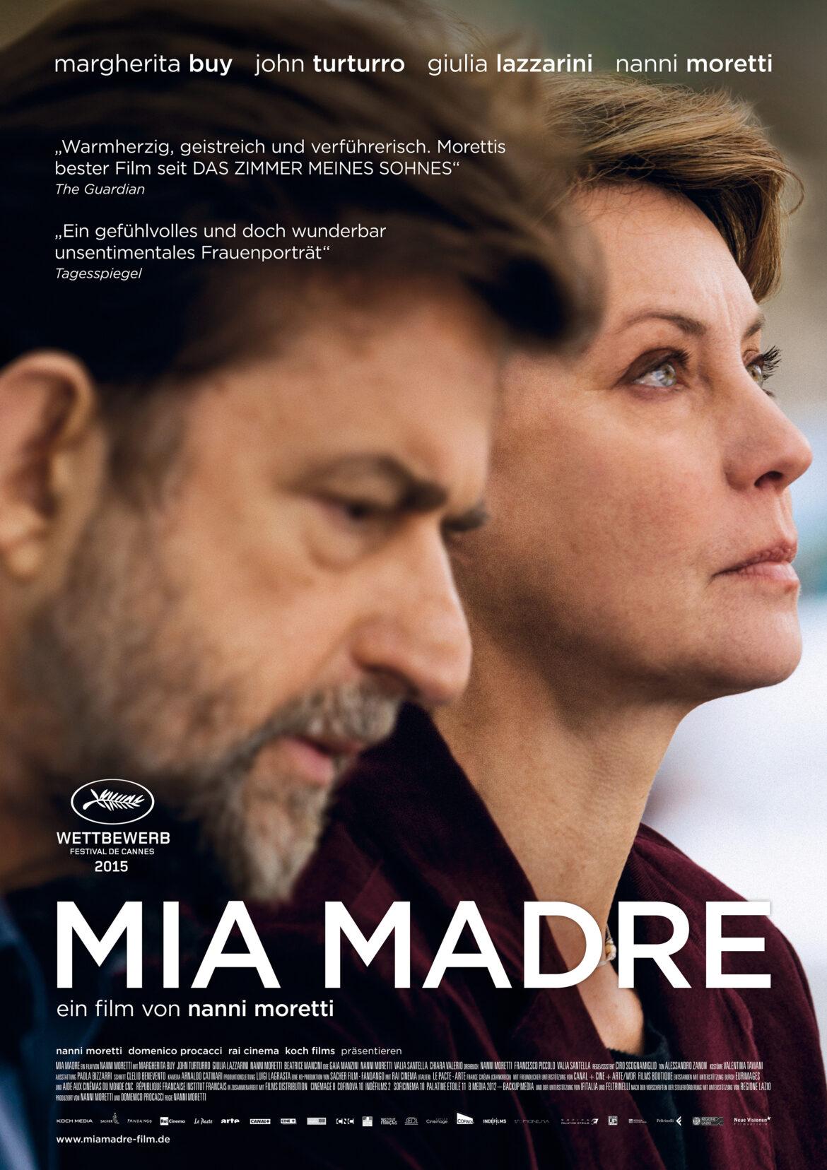 06./ 08./ 09./10. 04.2016 Film: Mia madre