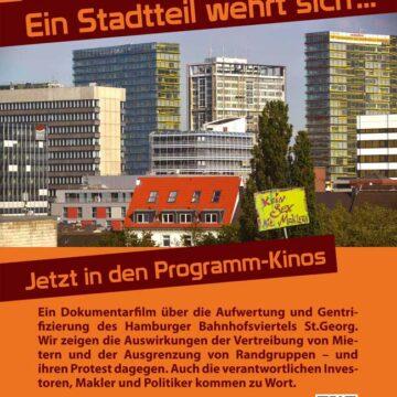 21.04.2016 Dokumentarfilm: Boomtown St. Georg- Ein Stadtteil wehrt sich