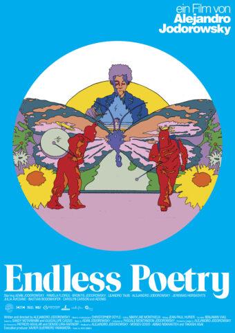 Hamburg-Premiere exklusiv im FilmRaum: Diverser Termine // Film: Endless Poetry (OmU) Ein Film von Alejandro Jodorowsky