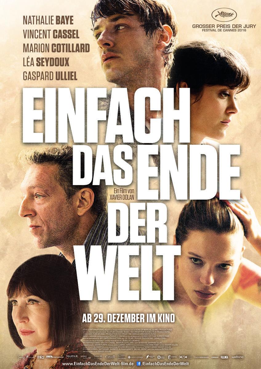 Einfach Das Ende Der Welt Film