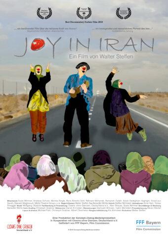 Joy in Iran (OmU) Ein Film von Walter Steffen