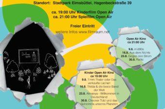 filmRaum OpenAir Kino im Stadtpark Eimsbüttel