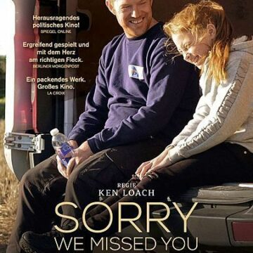 Sorry we missed you  (OmU) Ein Film von  Ken Loach