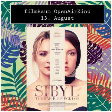 Open Air Kino:  Sibyl — Therapie zwecklos