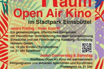 filmRaum OpenAir Kino //   Kino schafft Brücken, bringt zusammen!