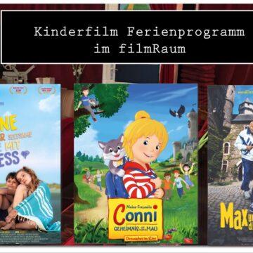Kinderfilm Ferienprogramm im filmRaum