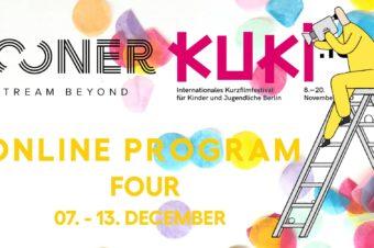 KUKI 13 Internationales Kurzfilmfestival für Kinder und Jugendliche Berlin, Noch bis zum 13. Dezember 2020!